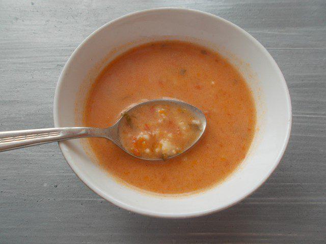 Paradajz supa sa pirinčem
