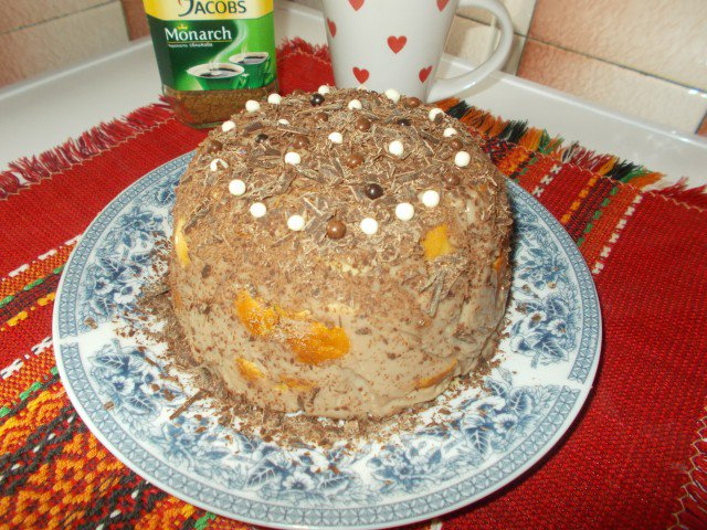 Jednostavna tortica sa milibrot kiflicama bez pečenja