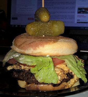 Teleći burger