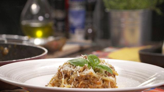 Klasične špagete Bolonjeze
