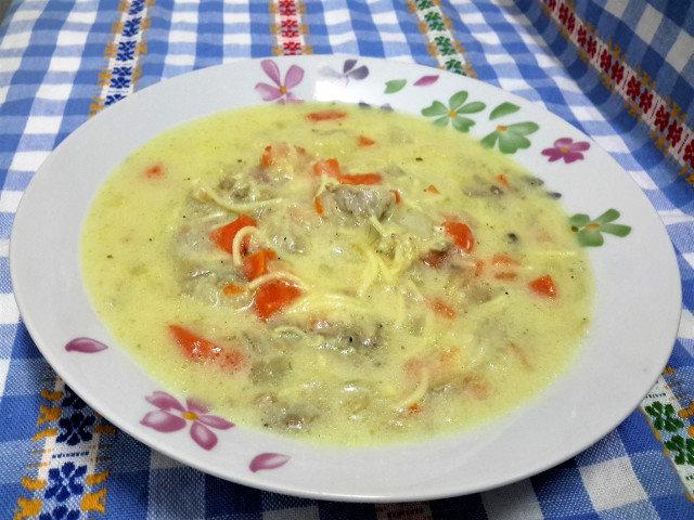 Pačija supa koja ugreva