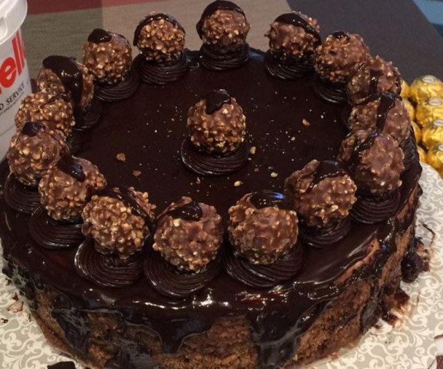 Torta Ferero Roše