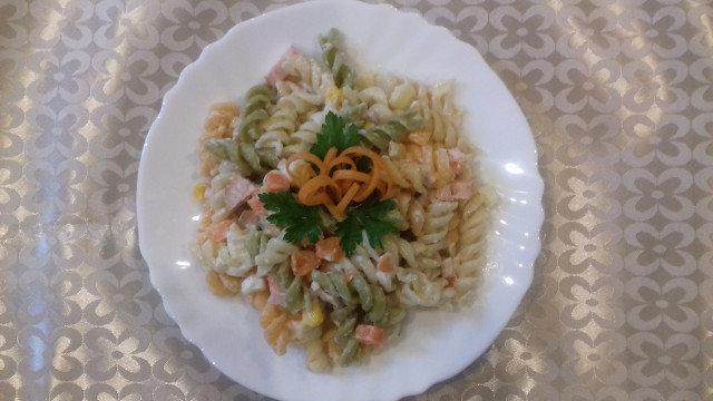 Salata od makarona sa sosom od pavlake