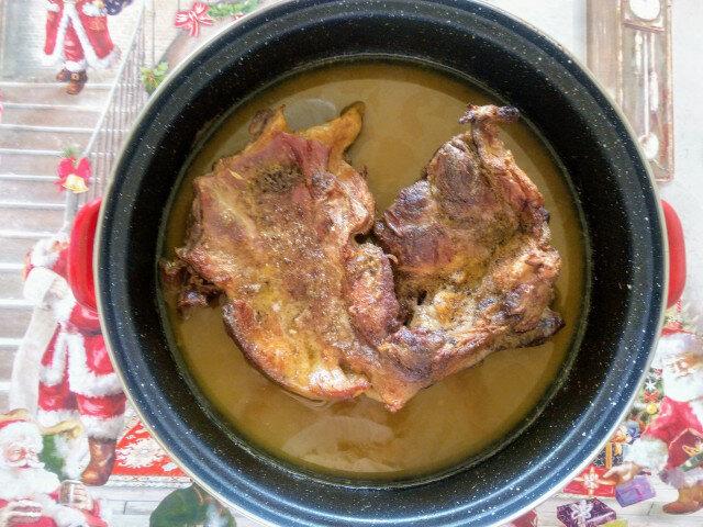 Jagnjeće meso u sosu od senfa